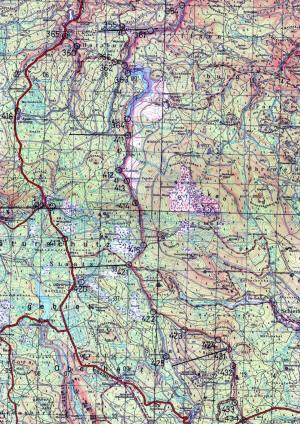 Ddr Grenze Karte Harz.Der Grenzabschnitt Der Bgs Abteilung Goslar