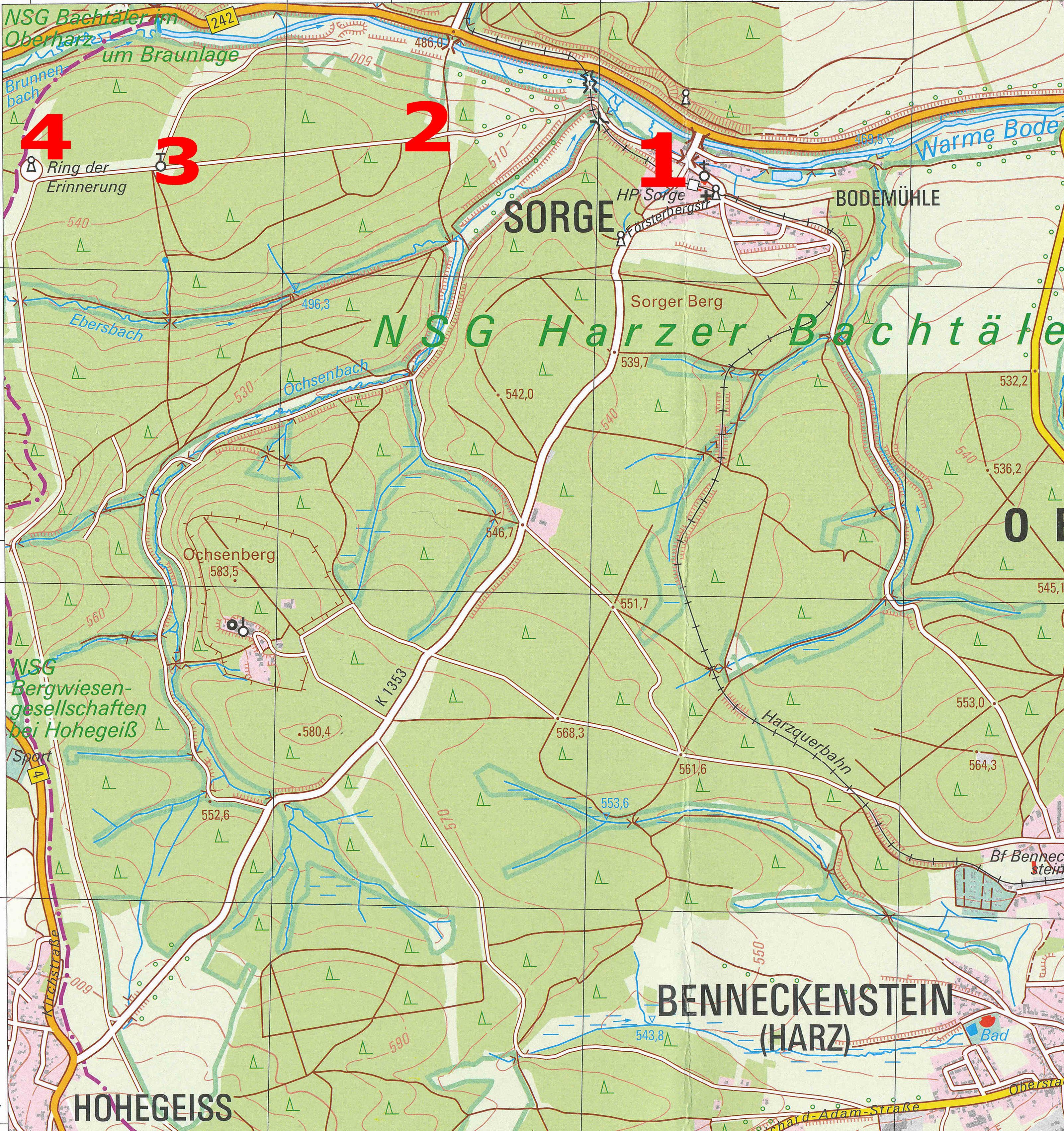 Ddr Grenze Karte Harz.Grenzlandmuseum Sorge Im Oberharz