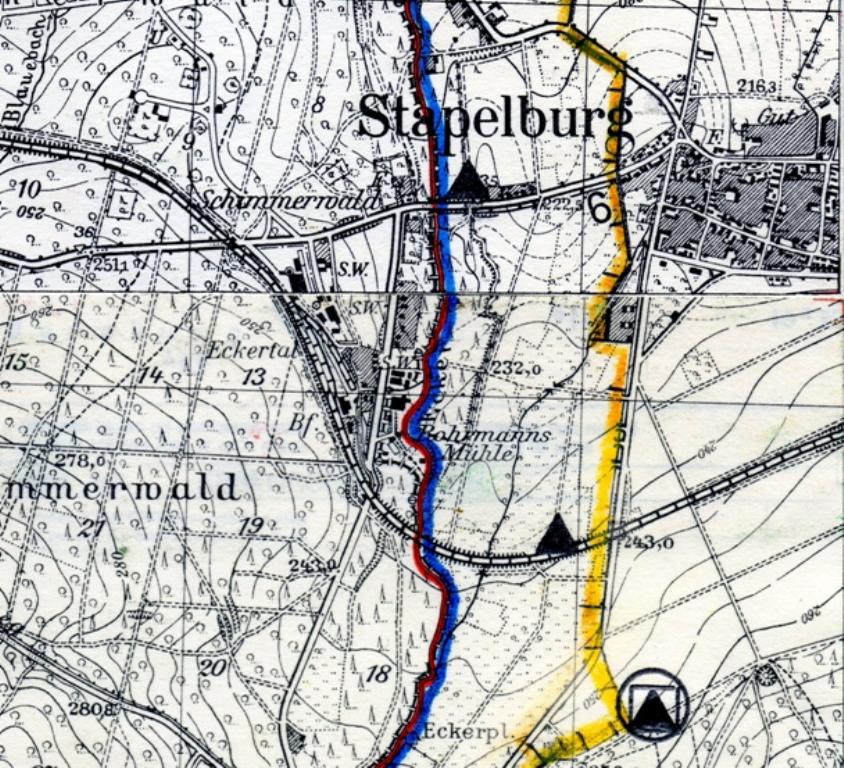 Ddr Grenze Karte Harz.Die Grenzoffnung Der Innerdeutschen Grenze Zwischen Eckertal